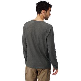 Craghoppers NosiLife Bayame Longsleeve T-Shirt Men Black Pepper Marl